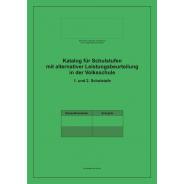 Katalog für alternative Leistungsbeurteilung, Volksschule