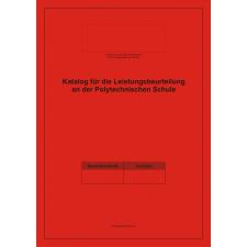 Klassenbuch – Katalog für Leistungsbeurteilung Polytechnische Schule
